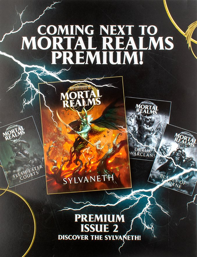 Mortal Realms - Premium Kit 1 - Back Cover