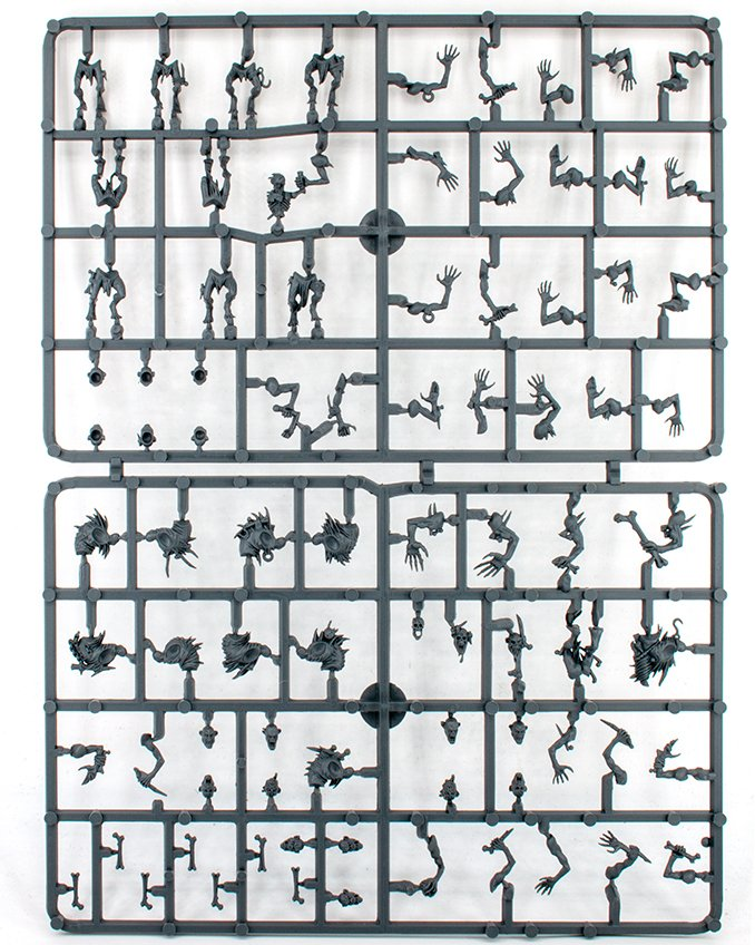 Mortal Realms - Premium Kit 1 - Crypt Ghouls Sprue A