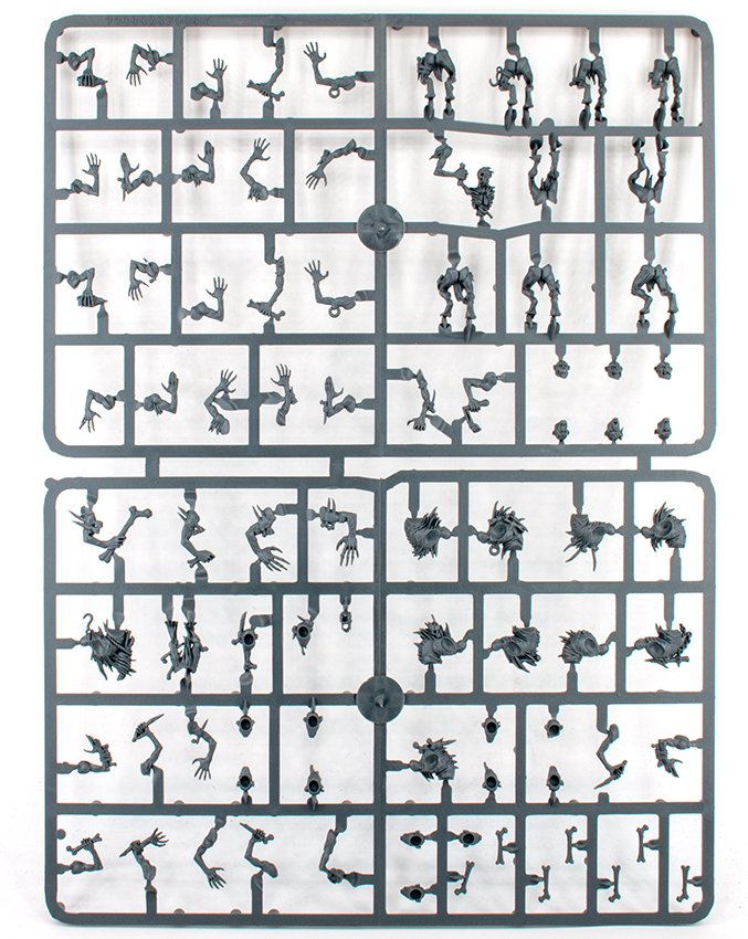 Mortal Realms - Premium Kit 1 - Crypt Ghouls Sprue B