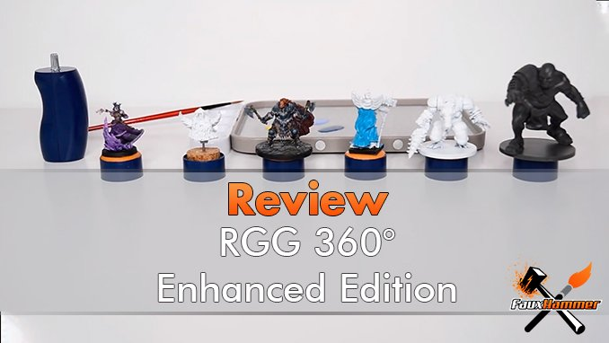 RGG 360 Enhanced Painting Handle Review for Miniature Painters - Featured