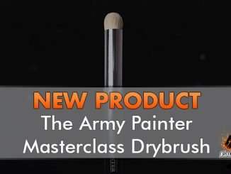 The Army Painter - Masterclass Drybrush - In primo piano