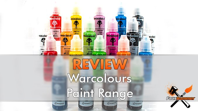 Warcolours Paint Range Review for Miniatures & Wargames Models - Featured