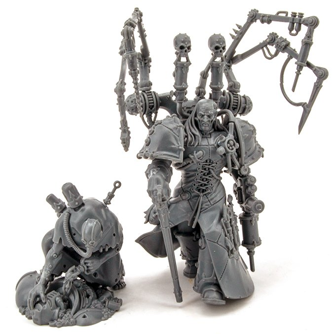 Fabius Bile Sprue Review - Fabius Bile & Surgeon Acolyte Complete