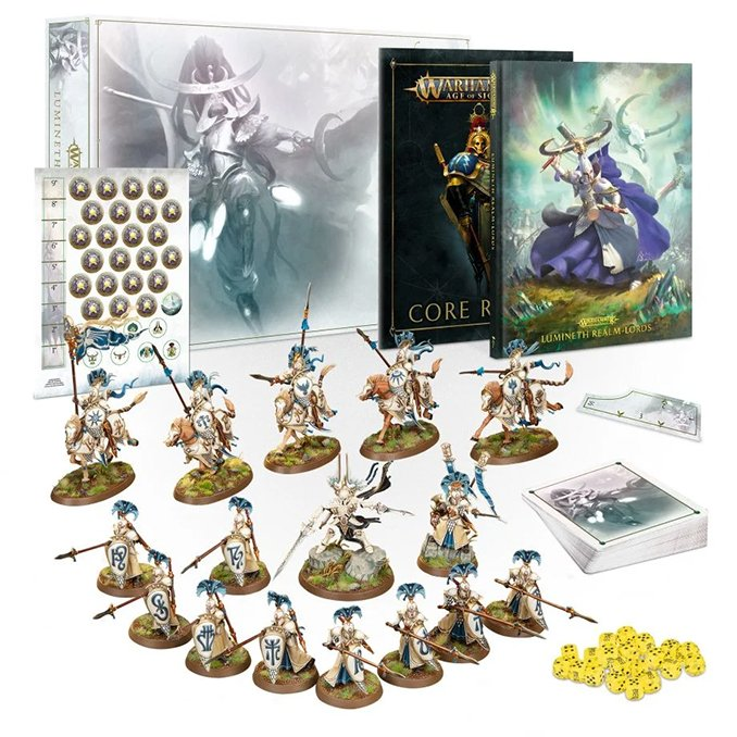 Lumineth Realm Lords Army Box