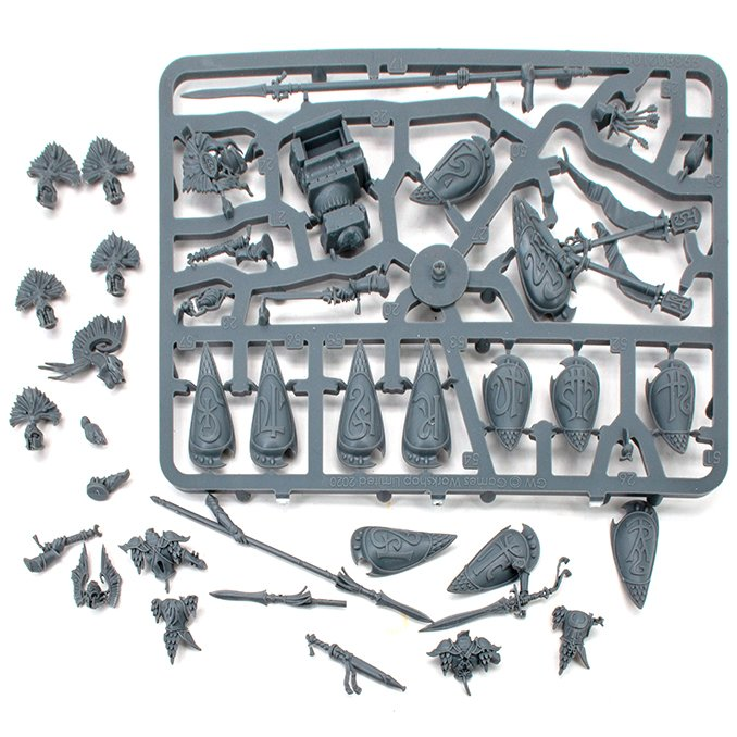 Lumineth Realm-lords Army Set Review pour les peintres miniatures - Restes