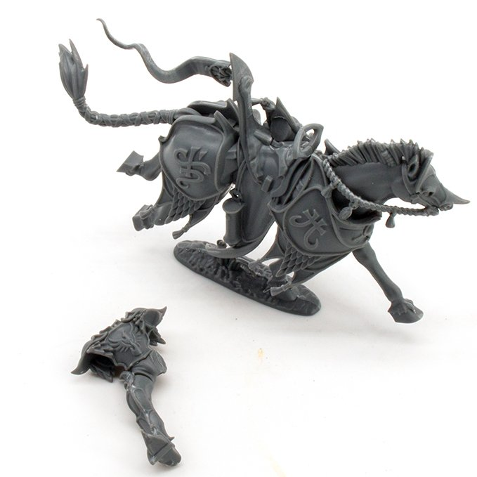Lumineth Realm-lords Army Set Review for Miniature Painters - Vanari Dawnrider Leg
