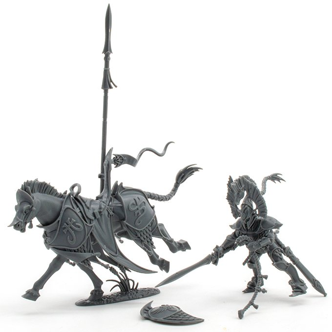 Lumineth Realm-lords Army Set Review for Miniature Painters - Vanari Sub Assemblies