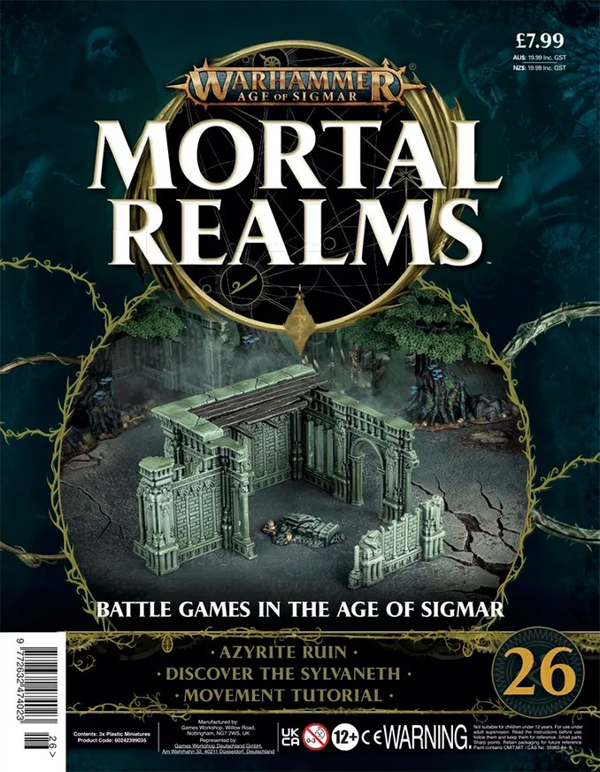 Mortal Realms Contents Issue 26 - Cover