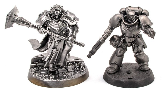 Vallejo Metal Color Review for Miniature Painters - Gloss vs Matte Basecoat