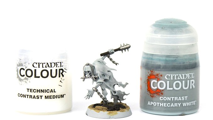 How to Paint Nighthaunt Chainrasps - 3 Chainrasp Shade Paints