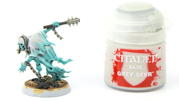 How to Paint Nighthaunt Chainrasps - 7 Chainrasp Grey Seer Paint