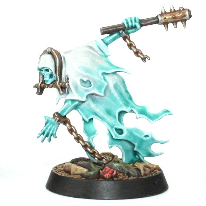 How to Paint Nighthaunt Chainrasps - Chainrasp Complete