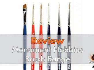 Recensione di Brush Hobby Monument Hobby Brushes per pittori in miniatura - In evidenza