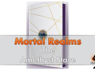 Mortal Realms - The Amethyst Stave - In primo piano