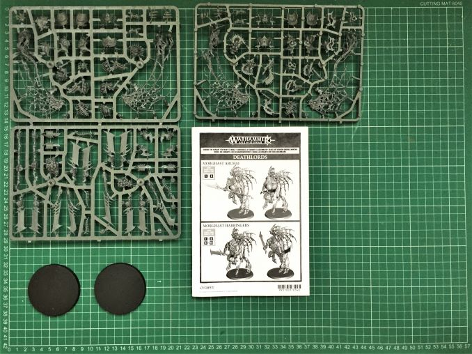 Deathlord Morghasts Review Sprue