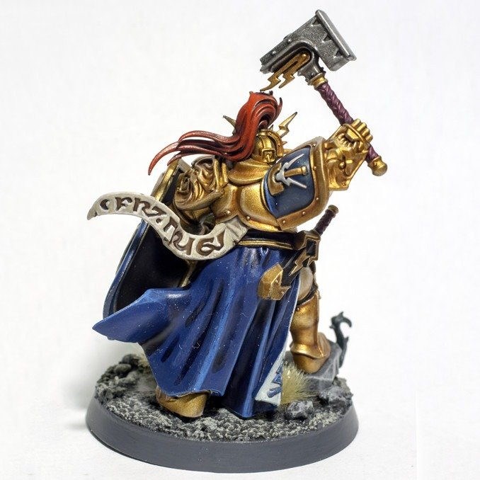 Sammle Stormcast Eternals Thunderstrike Brotherhood - Painted Retributor