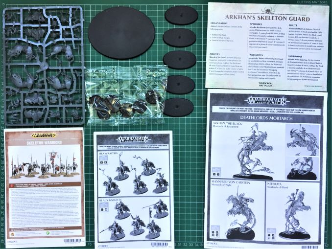 Start Collecting Skeleton Horde Review Box Contents