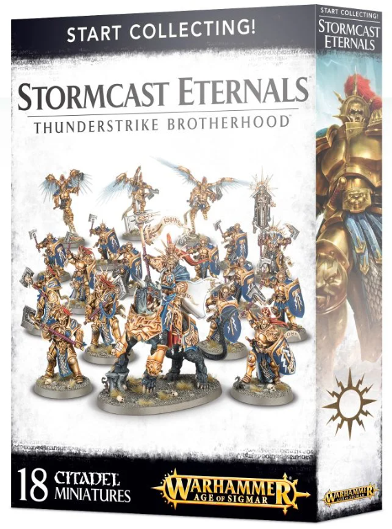 Commencez à collecter Stormcast Eternals Thunderstrike Brotherhood Box