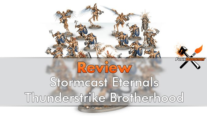 Start Collecting Stormcast Eternals Thunderstrike Brotherhood - Featured