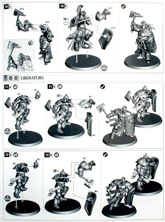 Commencez à collecter Stormcast Eternals Thunderstrike Brotherhood - Instructions