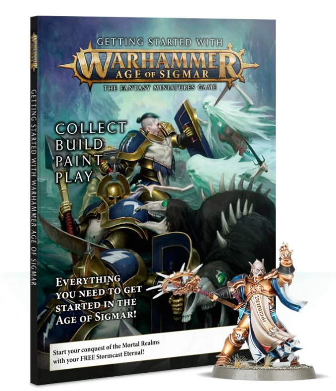 Comience a recopilar Stormcast Eternals Thunderstrike Brotherhood Review Age of Sigmar Getting Started Magazine