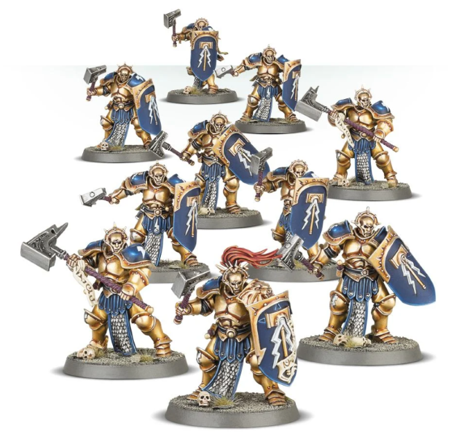 Début-Collecte-Stormcast Eternals Thunderstrike Brotherhood Review Liberators