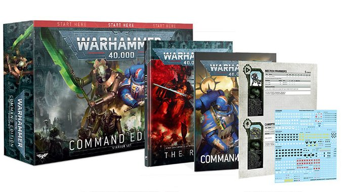 Warhammer 40,000 40K Starter Sets - Command Edition Box