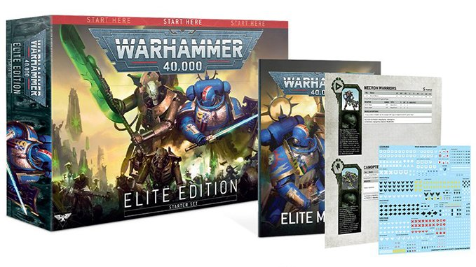 Warhammer 40,000 40K Starter Sets - Elite Edition Box