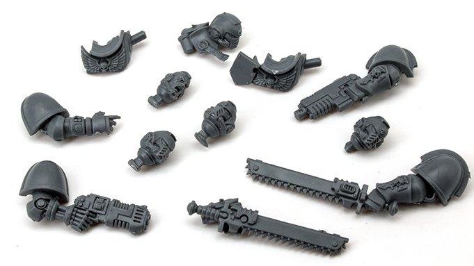 Warhammer 40,000 Indomitus 40K - Assault Interccessor Squad Leftover Remaining Components