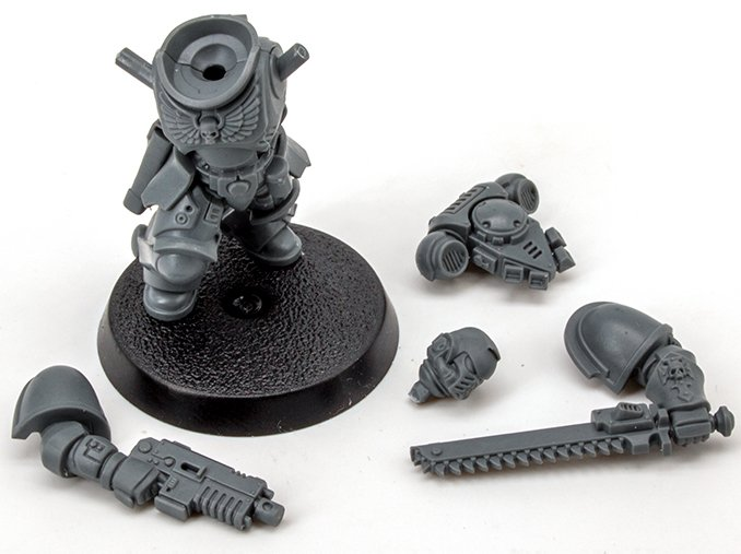 Warhammer 40.000 Indomitus 40K - Assault Interccessor Squad Sub Assemblies
