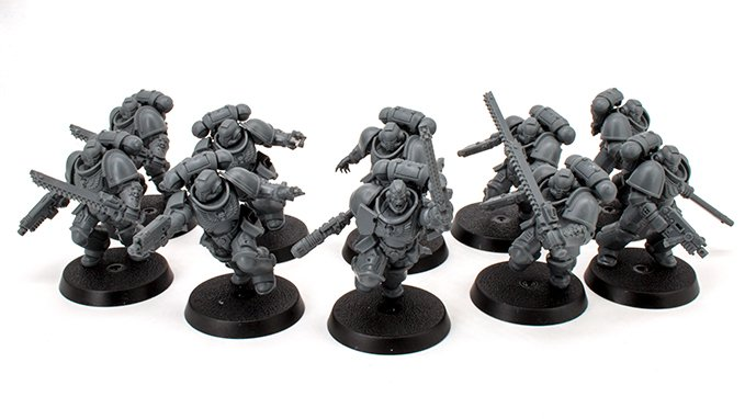 Warhammer 40.000 Indomitus 40K - Assault Space Marines Squad