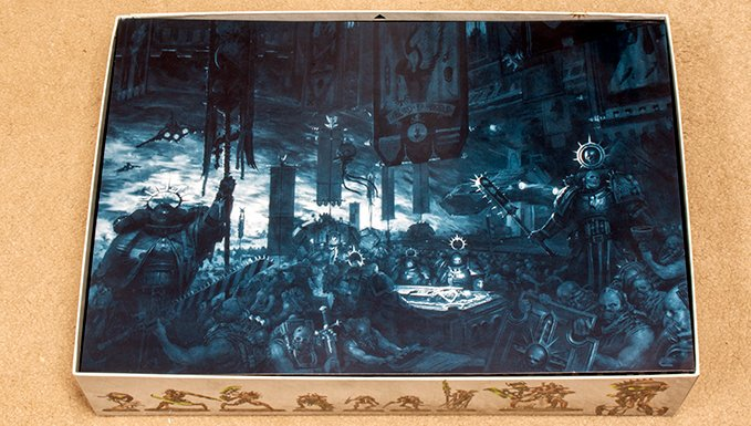 Warhammer 40,000 Indomitus 40K - Box Internal Art