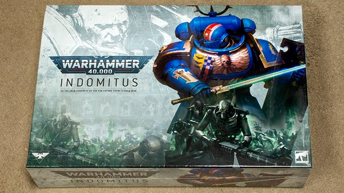 Warhammer 40.000 Indomitus 40K - Box