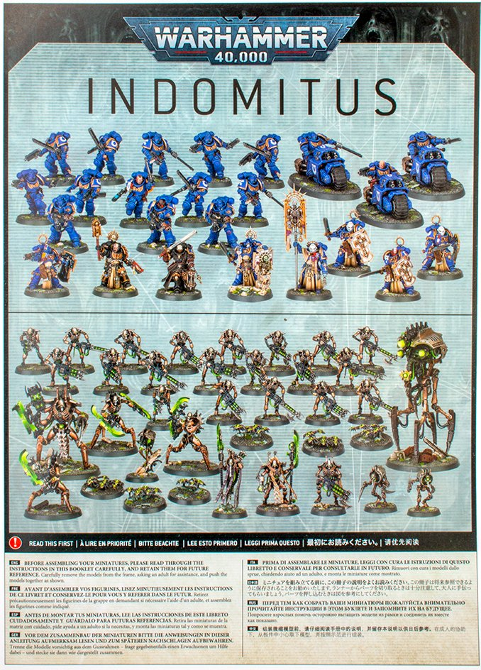Warhammer 40,000 Indomitus 40K - Build Instructions