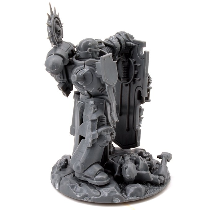 Warhammer 40.000 Indomitus 40K - Primaris Captain Mould Lines