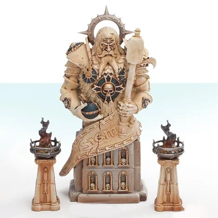 Mortal Realms Contents Issue 34 - Dominion of Sigmar Timeworn Ruins Statue