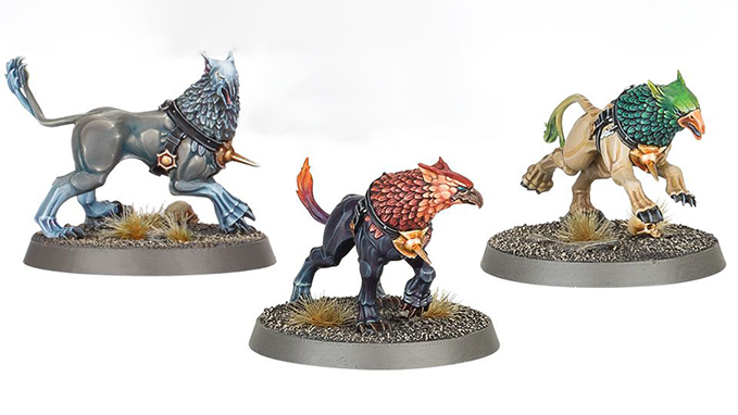 Mortal Realms Contents Issue 37 - Gryph Hounds