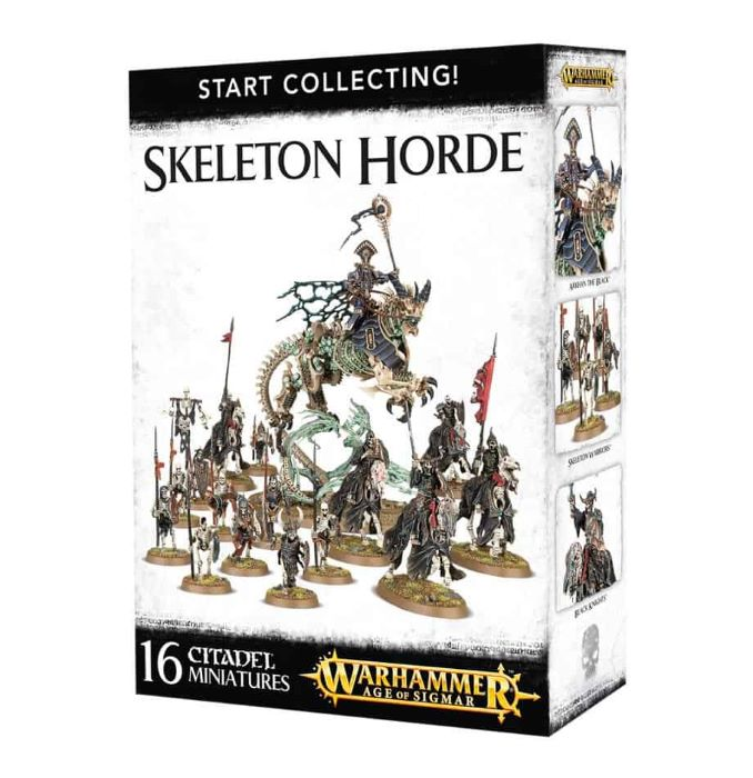 Start Collecting Skeleton Horde Review Boxed Game