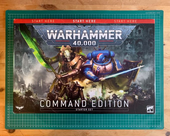 Warhammer 40,000 Starter Set: Command Edition Review Box Anverso