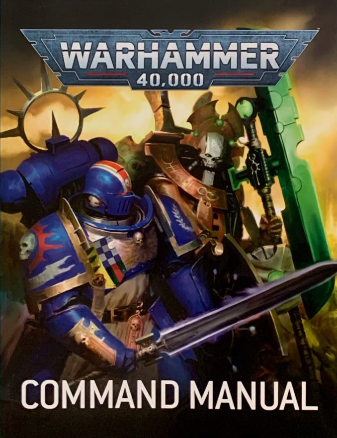 Warhammer 40,000 Starter Set: Command Edition Revisión Warhammer 40,000 Command Manual