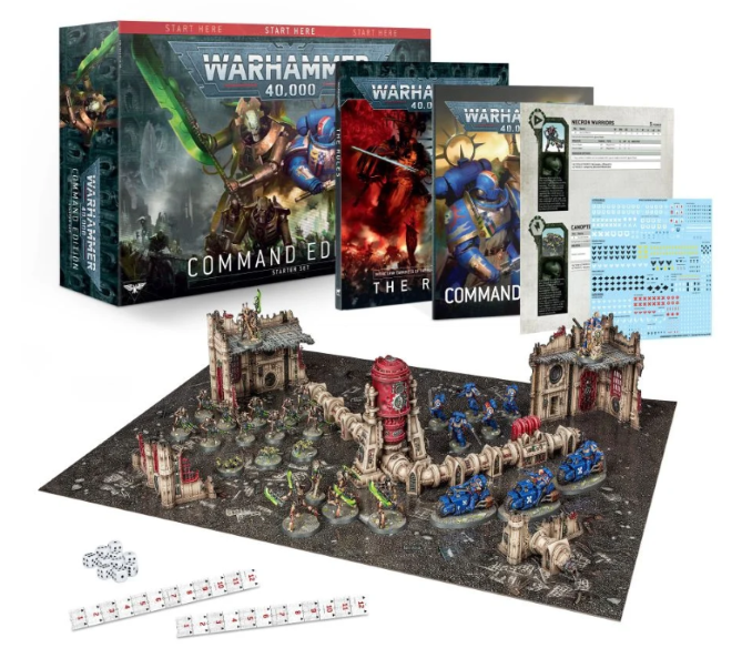 Warhammer 40,000 Starter Set: Command Edition Review GW Contents Preview 1