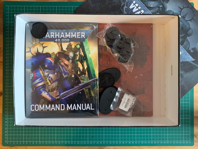 Warhammer 40,000 Starter Set: Command Edition Revisión Unboxing 4