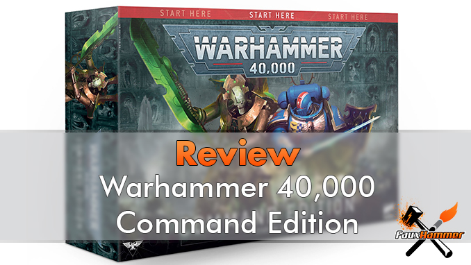 WarhWarhammer 40000 Command Edition Starter Set Review - Featuredammer 40000 Command Edition Starter Set Review - En vedette