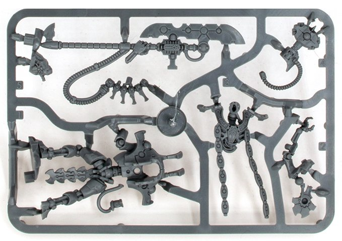 Warhammer 40,000 Starter Set: Command Edition Revisión Sprue C 2