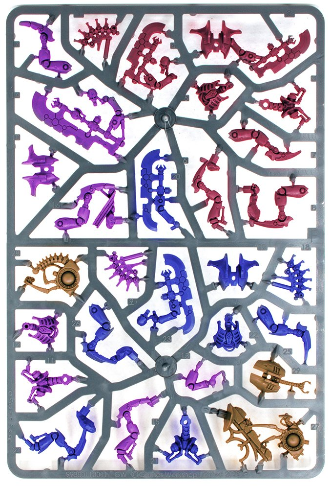 Warhammer 40,000 Starter Set: Command Edition Revisión Sprue E