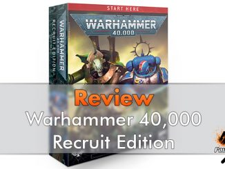 Revisión del set de inicio de Warhammer 40000 Recruit Edition - Destacado