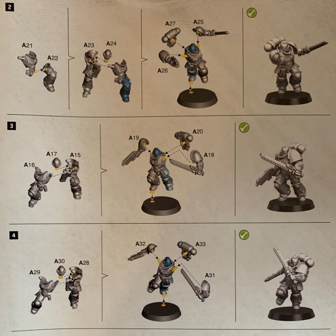 Warhammer 40,000 Starter Set Command Edition Intercessors Build Guide