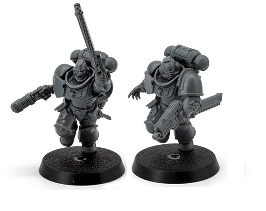 Warhammer 40,000 Starter Set Command Edition Intercessors Sergeants Options