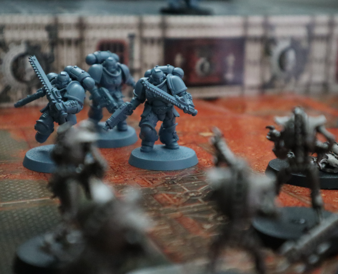 Warhammer 40k Starter Set Action Shot