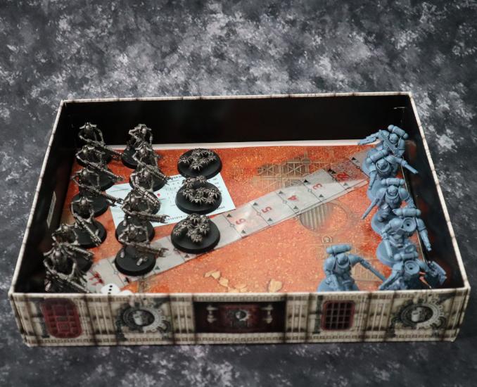 Boîte de transport Warhammer 40k kit de base